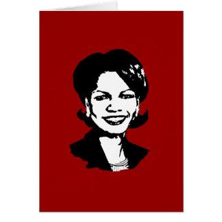 Condi Rice Card