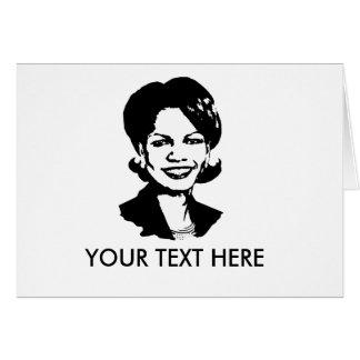 Condi Rice Gear Cards