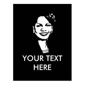 Condi Rice Gear Post Cards