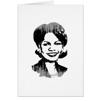 CONDI RICE.png Greeting Card