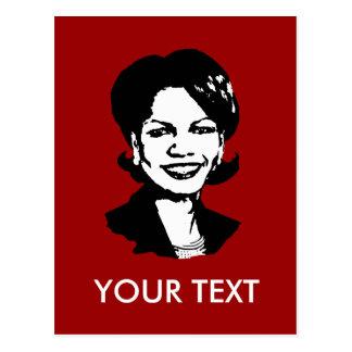 Condi Rice Postcards