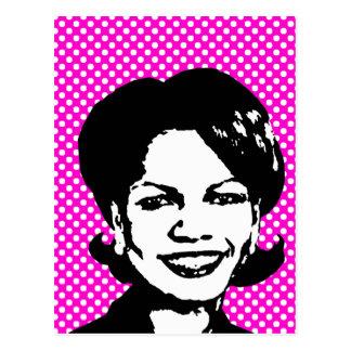 Condi Rice Post Cards