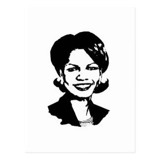 Condi Rice Postcard