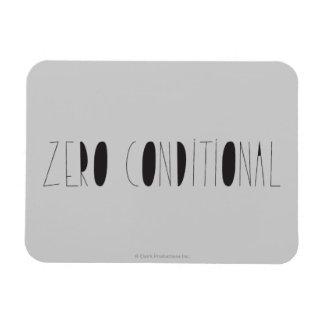 Condicional cero iman flexible