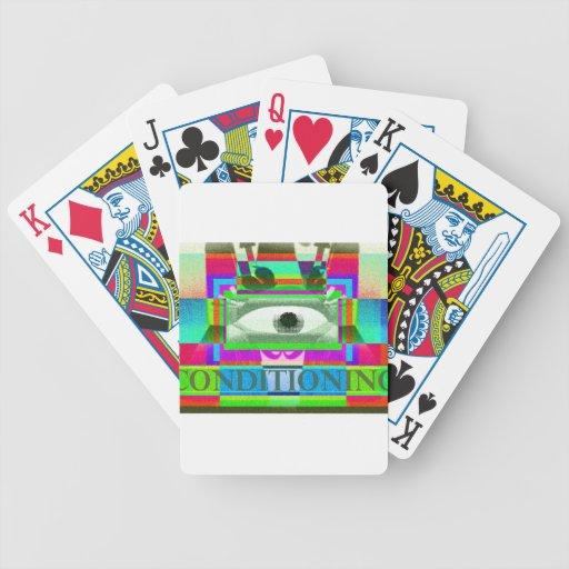 Condicionamiento Baraja Cartas De Poker
