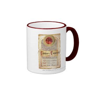 Condiciones del compromiso tazas de café