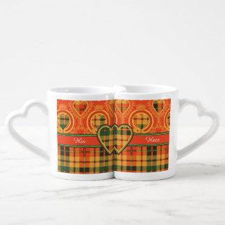 Condie clan Plaid Scottish kilt tartan Coffee Mug Set