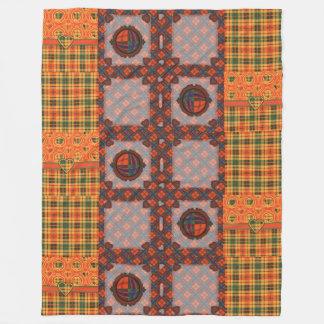 Condie clan Plaid Scottish kilt tartan Fleece Blanket