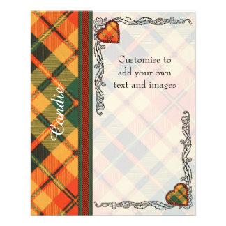 Condie clan Plaid Scottish kilt tartan Flyer