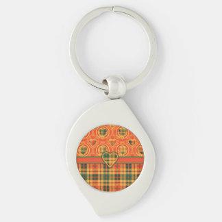 Condie clan Plaid Scottish kilt tartan Keychain