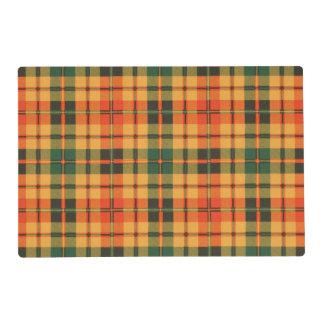 Condie clan Plaid Scottish kilt tartan Placemat