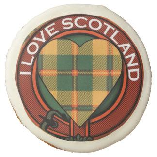 Condie clan Plaid Scottish kilt tartan Sugar Cookie