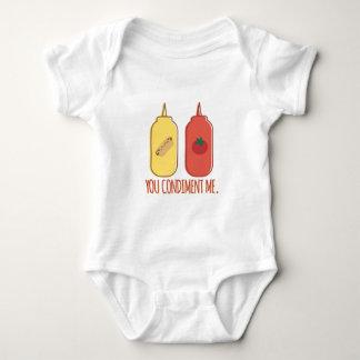 Condiment Me Baby Bodysuit
