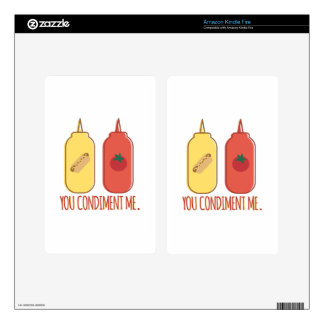 Condiment Me Kindle Fire Decals