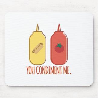 Condiment Me Mouse Pad