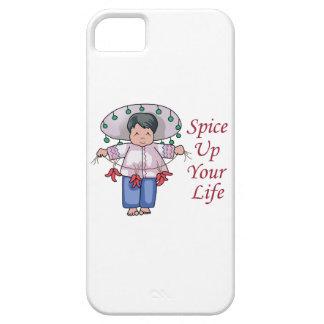 Condimente para arriba su vida iPhone 5 Case-Mate carcasas
