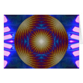 Condimento celestial tarjeta de felicitación