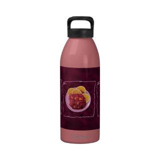 Condimento del naranja del arándano botella de agua reutilizable
