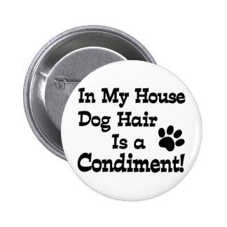 Condimento del pelo de perro pins