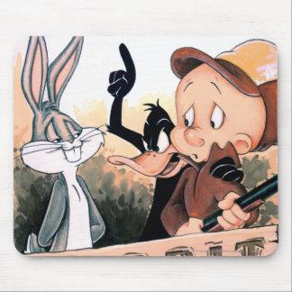 Condimento Looney del conejo de los tonos Alfombrilla De Raton