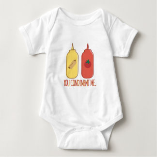 Condimento yo body para bebé