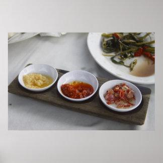 Condimentos tradicionales de Spicey Impresiones