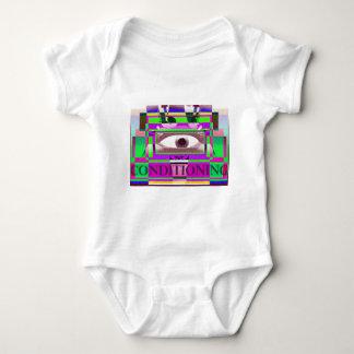 Conditioning 3 baby bodysuit