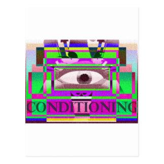 Conditioning 3 postcard