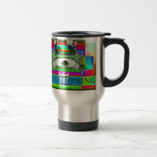 Conditioning 15 Oz Stainless Steel Travel Mug