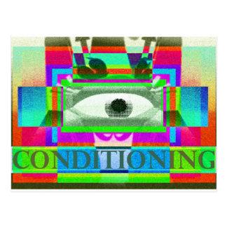 Conditioning Postcard
