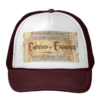 Conditions of Engagement Trucker Hat