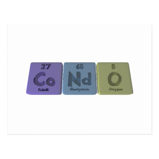 Condo-Co-Nd-O-Cobalt-Neodymium-Oxygen.png Tarjeta Postal