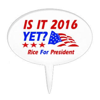 Condoleezza Rice 2016 Cake Picks
