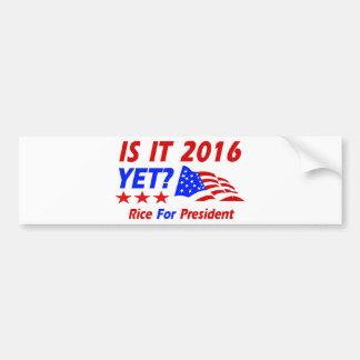 Condoleezza Rice 2016 Car Bumper Sticker
