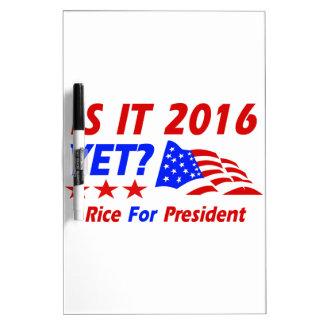 Condoleezza Rice 2016 Dry Erase White Board