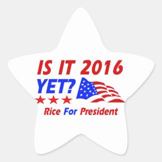 Condoleezza Rice 2016 Pegatina En Forma De Estrella