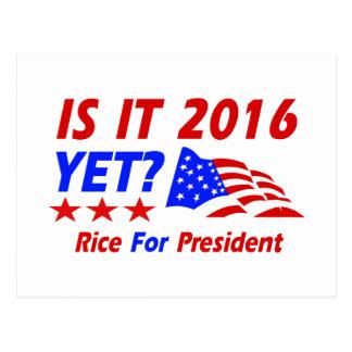 Condoleezza Rice 2016 Postcard