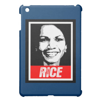 CONDOLEEZZA RICE INK BLOCK iPad MINI CASES
