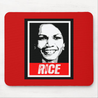 CONDOLEEZZA RICE INK BLOCK MOUSE PADS