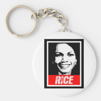 CONDOLEEZZA RICE INK BLOCK png Key Chains