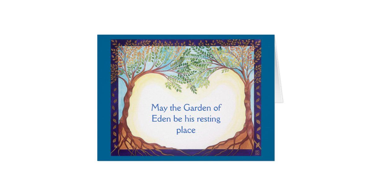 condolence  sympathy card for a man