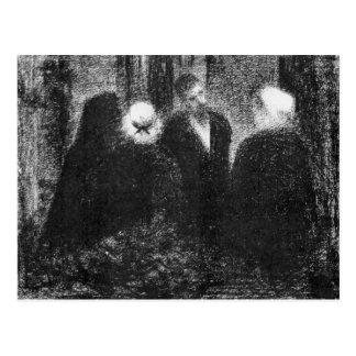 Condolences by Georges Seurat Postcard
