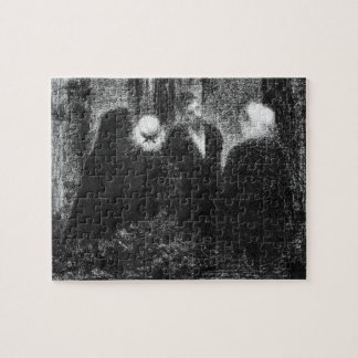 Condolences by Georges Seurat Jigsaw Puzzles
