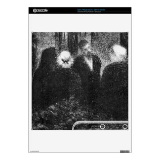 Condolences by Georges Seurat PS3 Slim Console Skin