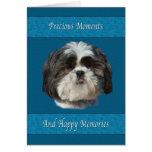 Condolencia en la pérdida de mascota, perro de tarjeta de felicitación