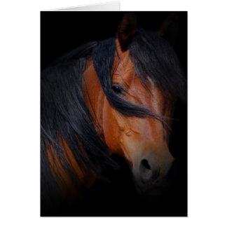Condolencia para la pérdida de caballo tarjeta de felicitación