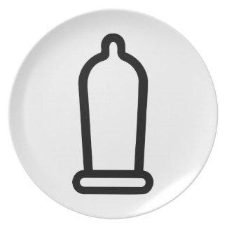 Condom Plates