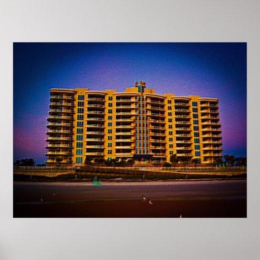 Condominio de los Vistas del océano de Daytona Bea Impresiones