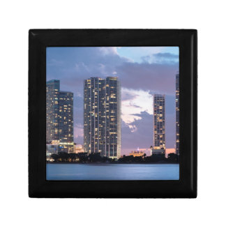 Condominium towers at the waterfront in Miami Gift Box