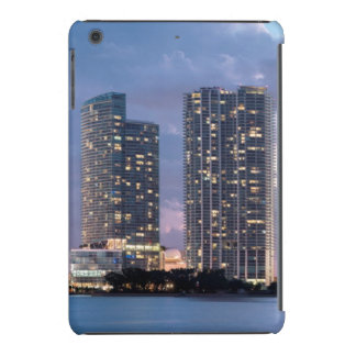 Condominium towers at the waterfront in Miami iPad Mini Cover